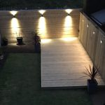 Wifi controlled garden lighting