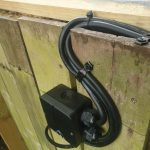 Garden power with wifi controlled switching